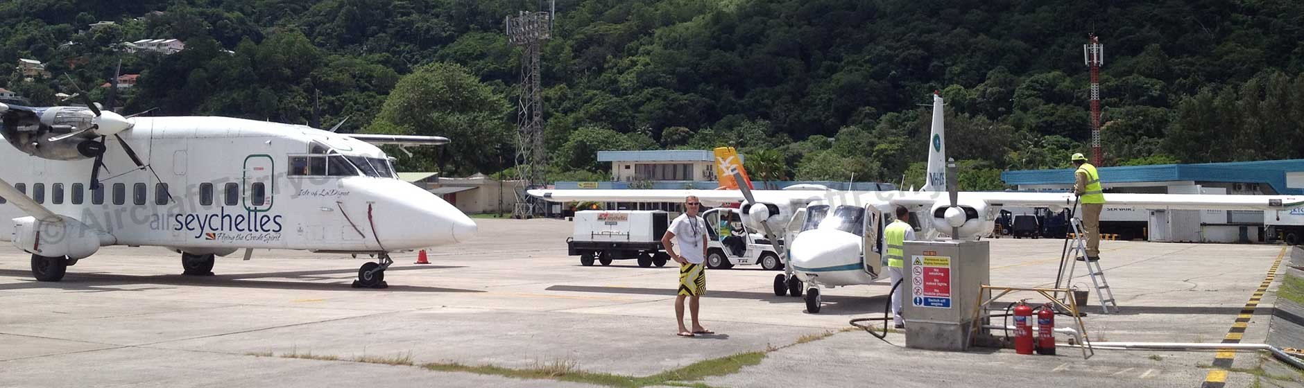 Seychelles AVGAS Ferry Flight